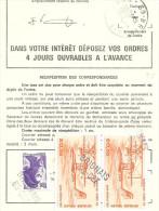 ORDRE DE REEXPEDITON - PA 58 - Marcophilie (Lettres)