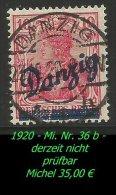 Danzig - 1920 - Mi. Nr. 36 B. - Danzig