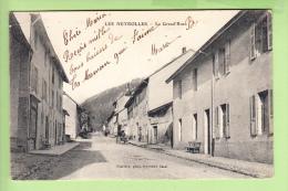 LES NEYROLLES - La Grande Rue Animée -  2 Scans - Francia