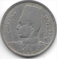 Egypte 5 Milliemes 1938   Km 363  Vf - Egypt