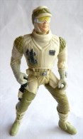 FIGURINE STAR WARS 1996 HOTH REBEL SOLDIER ANTI VEHICLE LASER CANNON (2) Incomplet Kenner China - Power Of The Force