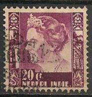 Timbres - Pays-Bas - Indes Néerlandaises - 1934-1937 - 20 Cent  - - Indes Néerlandaises