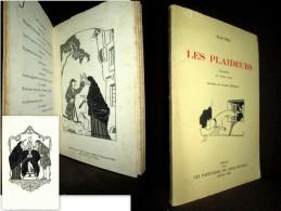 «Les PLAIDEURS» RACINE Comedie 3 Actes Theatre Theater Illustration Dessin Joseph HEMARD 1929 Velin Bouffant ! - Autores Franceses