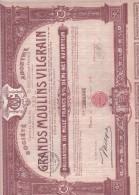 C1  /GRANDS MOULINS VILGRAIN  A NANCY  1931 - Industrie