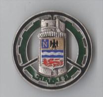 INSIGNE CIT 151 CENTRE D´ INSTRUCTION DU TRAIN , émail - DRAGO PARIS G 2228 - Armée De Terre