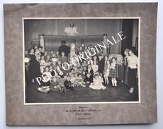 Photographie Originale 1937 : SOUVENIR De La FÊTE De SAINT-NICOLAS Au CERCLE PHILIPS, Anderlecht / Sint-Niklaas - Photos