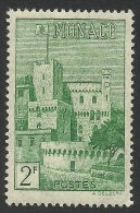 Monaco, 2 F. 1946, Sc # 169B, MH. - Unused Stamps
