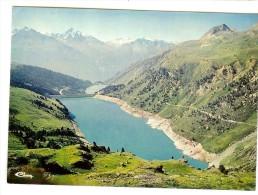 Cim 73.023.En Maurienne Aussois -Barrages Et Lacs De Planc Amont Et Plan Aval.Au Fond, Le Norma Ety Aiguille De Scolette - Sonstige Gemeinden