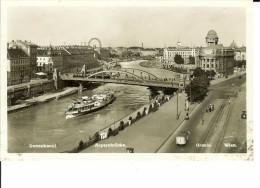 CPA  WIEN, Donaukanal, Aspernbrücke, Urania  1044 - Altri