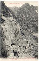 ORLU - Ouvriers Travaillant Au Barrage Du Lac De Naguilles (Juillet 1909)  (84436) - Francia