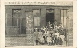 BELLE CARTE PHOTO DEVANTURE  CAFE BAR DU PLATEAU - To Identify