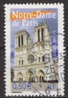 France 2004 -Y & T -  Oblitéré - N° 3705  Portraits De Nos Régions - Notre-Dame De Paris - France