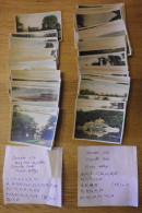 CARTE CIGARETTES - Lot De 75 Cartes: Army Club Cigarettes CAVANDERS LTP - Thème: River Valleys - Collections & Lots