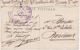 Hôpital Auxiliaire N° 112 - Union Des Femmes De Fécamp - Carte Postale Bon état (Lot LF 1) - Postmark Collection (Covers)