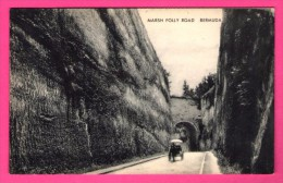 Bermuda - Marsh Folly Road - Cheval - Calèche - Bermudes