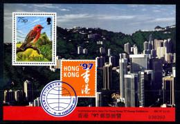 St. Helena 1997 Stamp Exhibition, Hong Kong MS, MNH - St. Helena