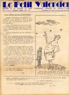 Politique-Bulletin Le Petit Valencien-Parti Communiste Français- De Gaulle- OAS- Caylus- Affichette Cinéma Apollo Borgia - Non Classificati