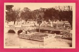 30 GARD NIMES, Jardin De La Fontaine, La Source Et Les Bains, (L. L.) - Nîmes