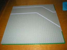 Plaque Routière LEGO : Virage - Lego System