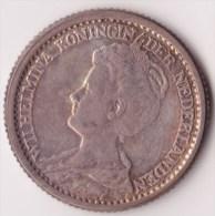 @Y@  NEDERLAND  25 Cent 1918    (2940)  Prachtig Patina - [ 3] 1815-… : Koninkrijk Der Nederlanden