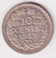 @Y@  NEDERLAND  10 Cent 1939    (2935)  Prachtig Patina - [ 3] 1815-… : Koninkrijk Der Nederlanden