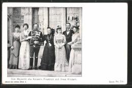 CPA Kaiserin Friedrich Avec Ihren Des Enfants - Royal Families