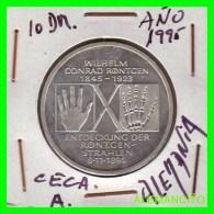 ALEMANIA  - BRD  - MONEDA DE 10 DM  PLATA  S/C  AÑO 1995-A  PROOF - [10] Conmemorativas