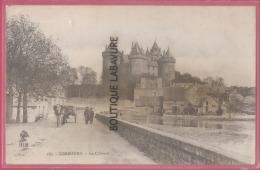 35 - COMBOURG--le Chateau--attelage --animé - Combourg