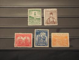 BULGARIA - 1935 HADJI 5 Valori (lievi Difetti)- NUOVI(+) - 1909-45 Regno