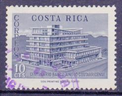 COSTA RICA   - 1963 - Michel N° 625 - Verjaardag Banco Anglo Costaricense -  Gestempeld/oblit. - ° - Costa Rica