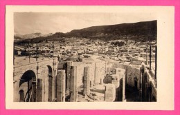 Carte Photo - Bolivie - Bolivia - La Paz - View Overlooking A Section Of The City With ... Tower Of The Cathedral - Bolivia