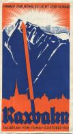 Österreich - Niederösterreich - Raxbahn - Fahrplan Vom 15. Mai - 3. Oktober 1931 - Faltblatt - Europa