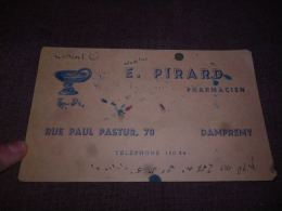 AA3-8 LC 144 Buvard E. Pirard Dampremy - P