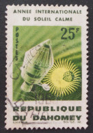 ANNEE INTERNATIONALE DU SOLEIL CALME 1964 - OBLITERE - YT 216 - MI 244 - Benin – Dahomey (1960-...)