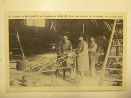 Le Baron De BRADSKY Et L'Ingénieur MORIN - Parc Aérostatique De Vaugirard - 11 Octobre 1902 - Avions