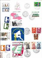 Thème EUROPA 1956 à 1978 ' Très Beau Lot De 186 FDC Différents  XX - 1956