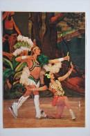 """Ice Ballet - Composition """"Australia"""" - Dance With Arch - Old Soviet Postcard - Archer - Archery - Tir à L'Arc"""
