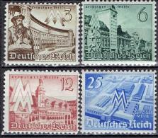 Deutsches Reich - Mi-Nr 739/742 Postfrisch / MNH ** (B1049) - Alemania