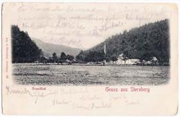 GRUSS AUS STERNBERG - GRUNDTHAL, Šternberk, K.u.K. FELDPOST 1915, Rotes Kreuz Mähren - Czech Republic