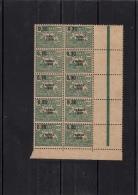 France Libre Chiffre Taxe Madagascar Bloc De 15 Neuf - Madagascar (1889-1960)