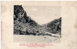 Le Port De L' Orle Et Pontaut D' Ayer Les Eaux Minérales   (84458) - France
