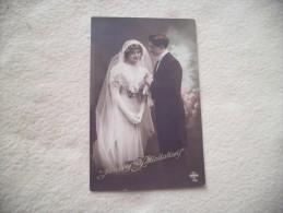 JEUNE COUPLE ...MARIAGE - Noces