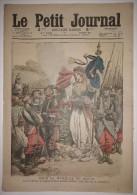 Le Petit Journal 19/12/1909 - Pour La Médaille De 1870-71 - Ecrasé Par Une Cloche - Dessins De Draner - Zeitungen
