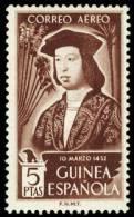 Guinea 317 * Fernando 1952. Charnela - Guinea Spagnola