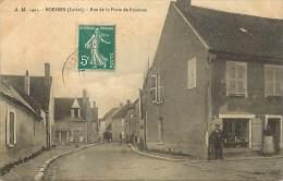 - Loiret - Ref - A613 - Boesse - Rue De La Porte De Puiseaux - Magasin - Petit Plan Attelage - - Other Municipalities