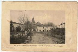 Saint Germain Du Puch / Entrée De La Ville , Côté Est  / Etat !!! - Frankrijk