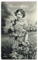 I3865 Ragazza Girl Femme Frau Chica Pin Up / Non Viaggiata - Pin-Ups