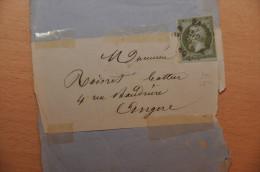 Lettre Imprimé, Empire 1c, N°11, Décembre 1860 - Marcophilie (Lettres)
