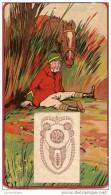 Calendrier/Support D´èphémeride Usagé/Carton Imagé/Chute Du Cavalier /Cheval étonné //Humour/1922      CAL256 - Calendars