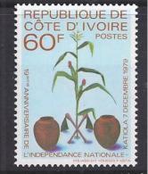 FLORES - REPUBLICA D'IVOIRE 1980 - Yvert #533 - MNH ** - Pflanzen Und Botanik